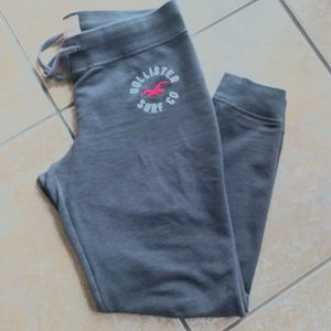 Hollister gray woman joggers